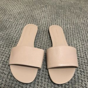 Nude sandals size 9.5 Banana Republic